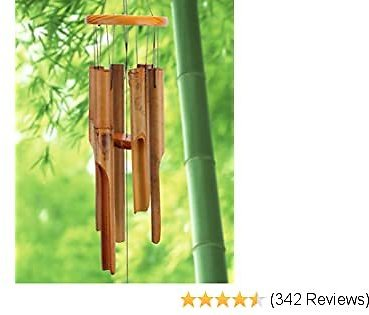 60%OFF Afirst Wooden Wind Chimes Outdoor, Bamboo Wind Chimes with Amazing Deep Tone