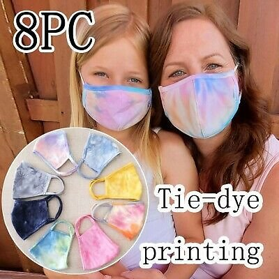 Fashion Printing Breathable Protection Face Cover Reuse Mask