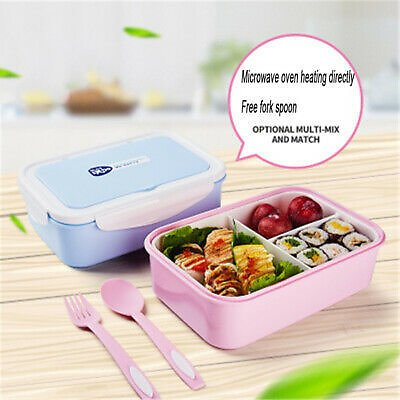 Lunch Box for Women Kids Box Containers Vintage Lunchbox Mint FDA Portable Boxes