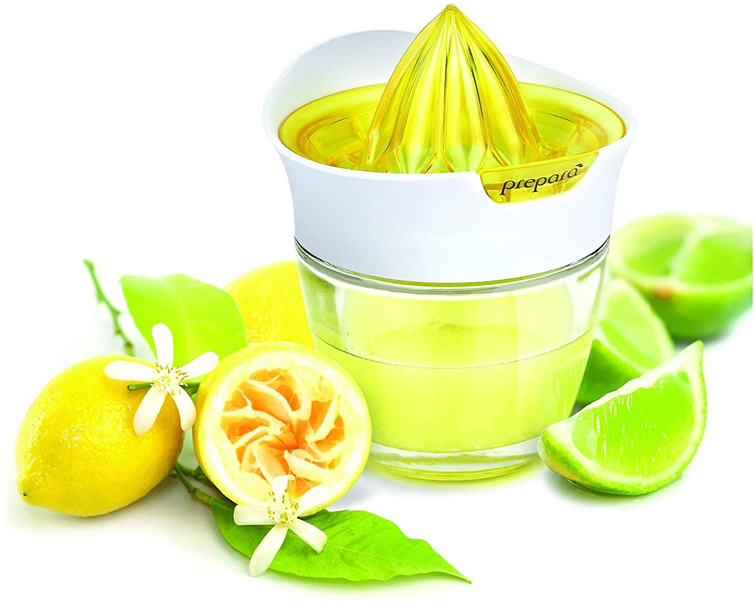 Prepara Glass Citrus Juicer with Storage
