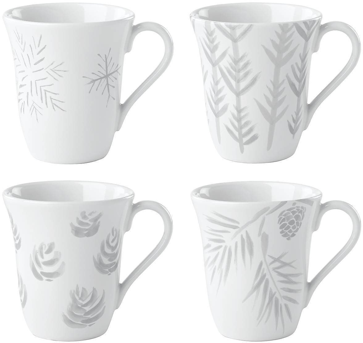 Alpine™ 4-piece Assorted Mug Set