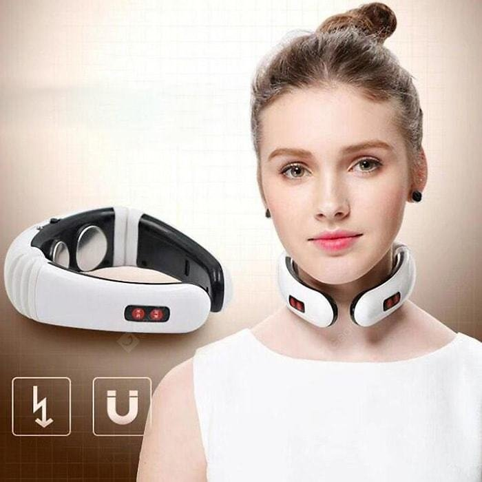 SYJF 179 Massage Device Cervical Neck Guard Intelligent Instrument White Battery Power Makeup Brushes & Tools Sale, Price & Reviews   Gearbest