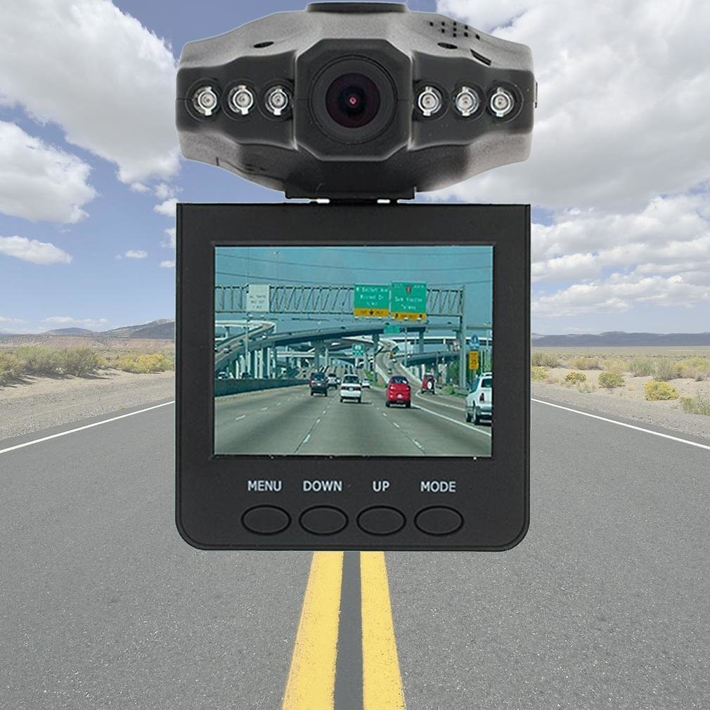 HD Vehicle Dashboard Camera with Accessories