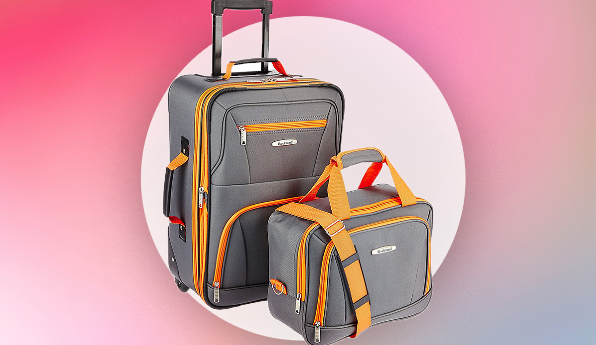 On Sale for Just $39 At Amazon, This Two-piece Luggage Set Is Practically An Impulse Buy