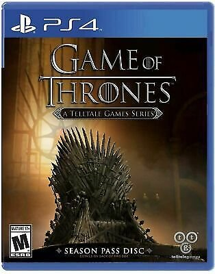 Game of Thrones A Telltale Games Series [PS4] New & Sealed!!