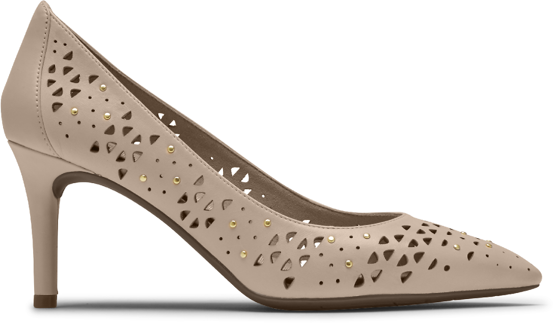 Women's Total Motion 75mm Perforated Studded Heel