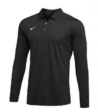 New With Tags Men's Nike Long Long Sleeve Athletic Gym Muscle Dri-Fit Polo