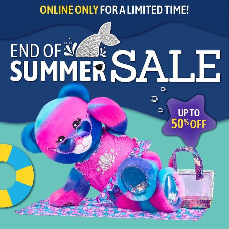 Up To 50% Off End of Summer Sale