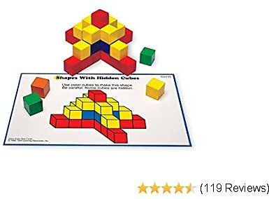 Learning Resources 100 Piece Creative Color Cubes ONLY $18.98 At Amazon