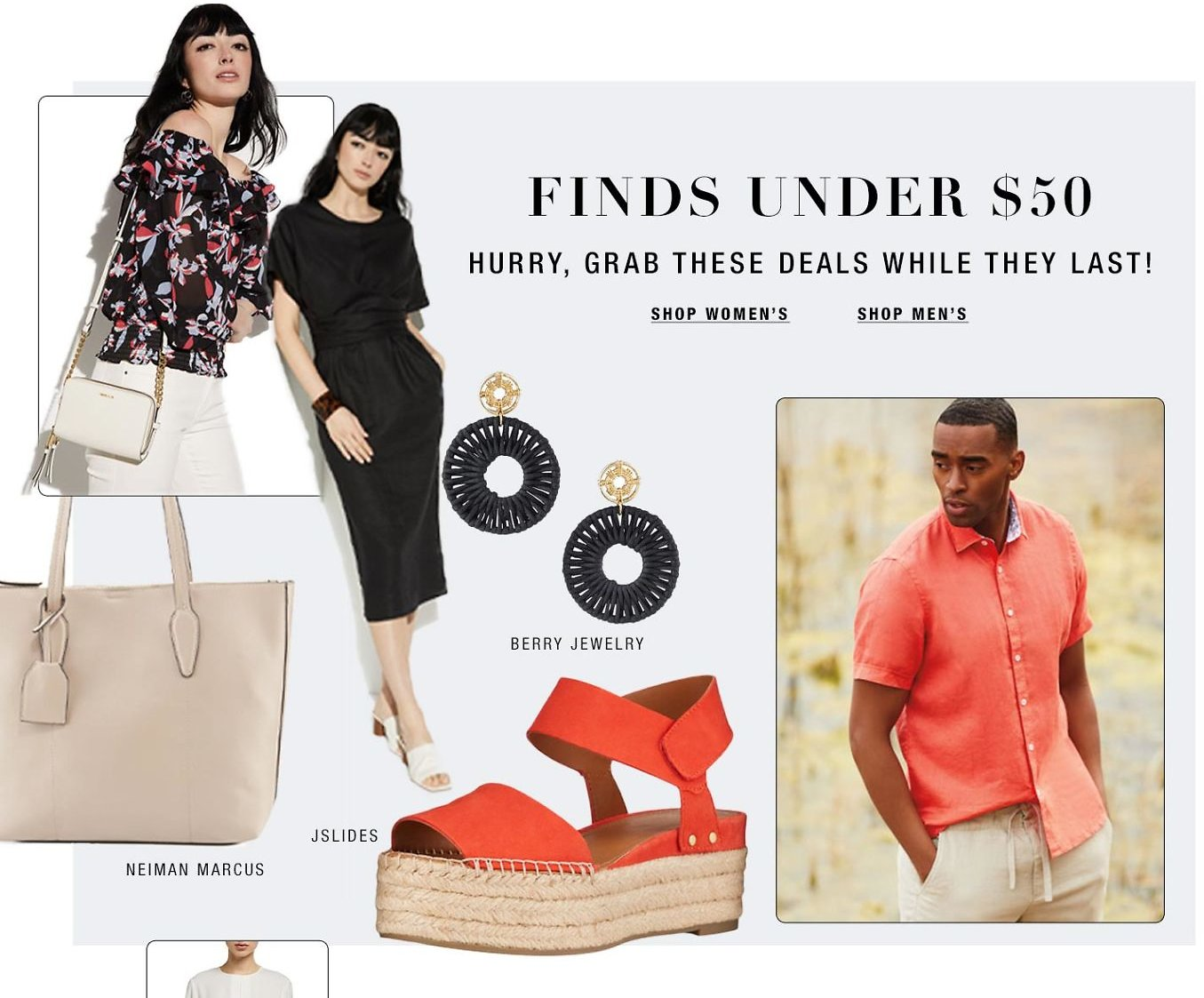 Finds Under $50 At Neiman Marcus Last Call