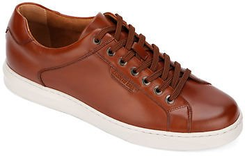 Kenneth Cole Linus Low-Top Leather Sneakers