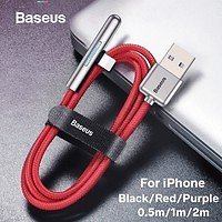 Baseus Colorful Gradual Lighting USB Cable for IPhone XR X XS Cable USB Charger for IPhone 8 7 Plus Mobile Game Charging Cable IPhone Cable | Wish