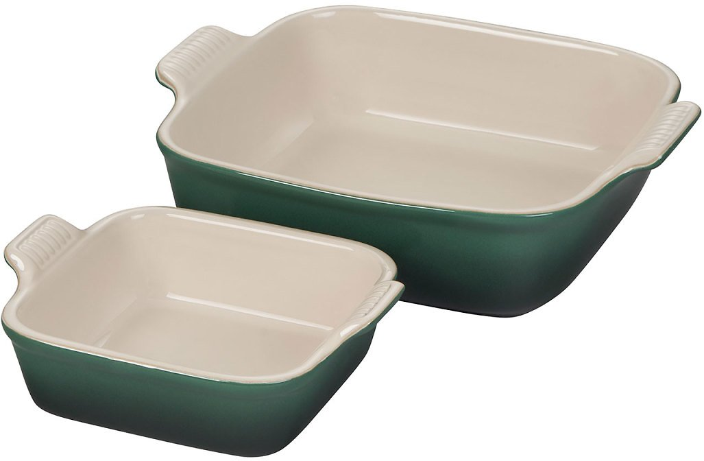 Le Creuset Square Bakers, Set of 2 | Sur La Table