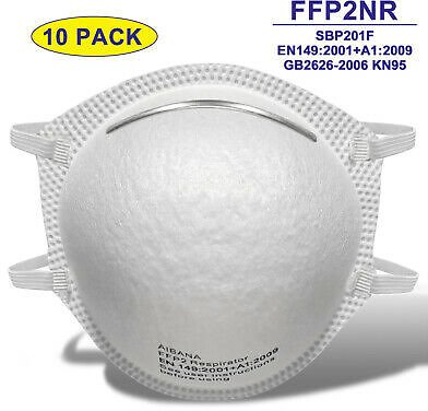 Save 35% Off 10 PCS KN95 Disposable Face Mask Mouth Cover Protective Respirator FFP2