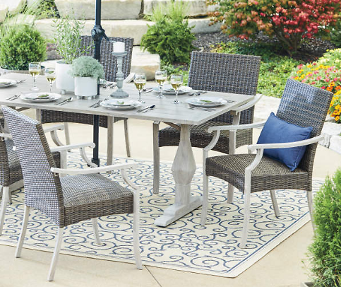 Wilson & Fisher Innisbrook All Weather Wicker Dining Chairs, 6-Pack
