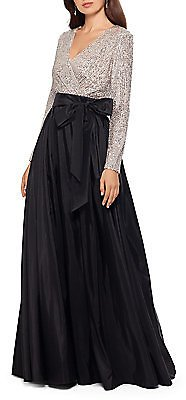 Xscape - Sequin-Embellished Ball Gown