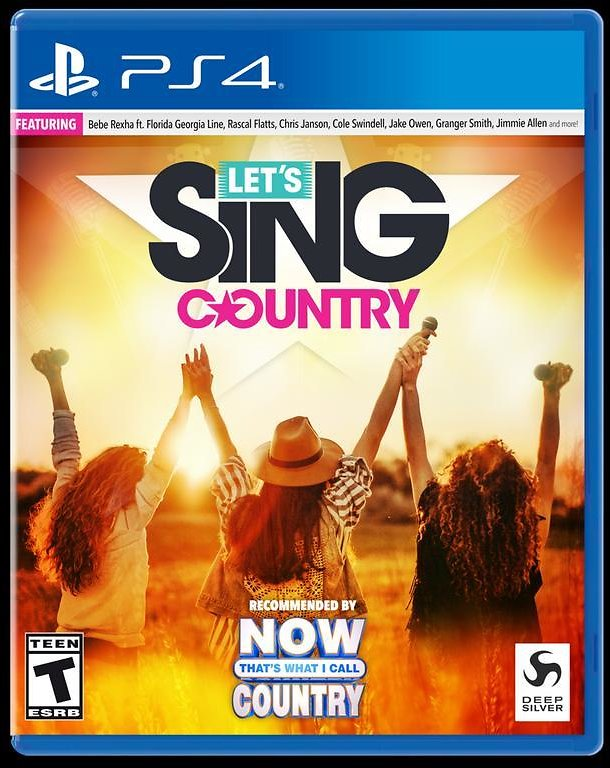 Let's Sing Country - Nintendo Switch PlayStation 4 Xbox One THQ Nordic