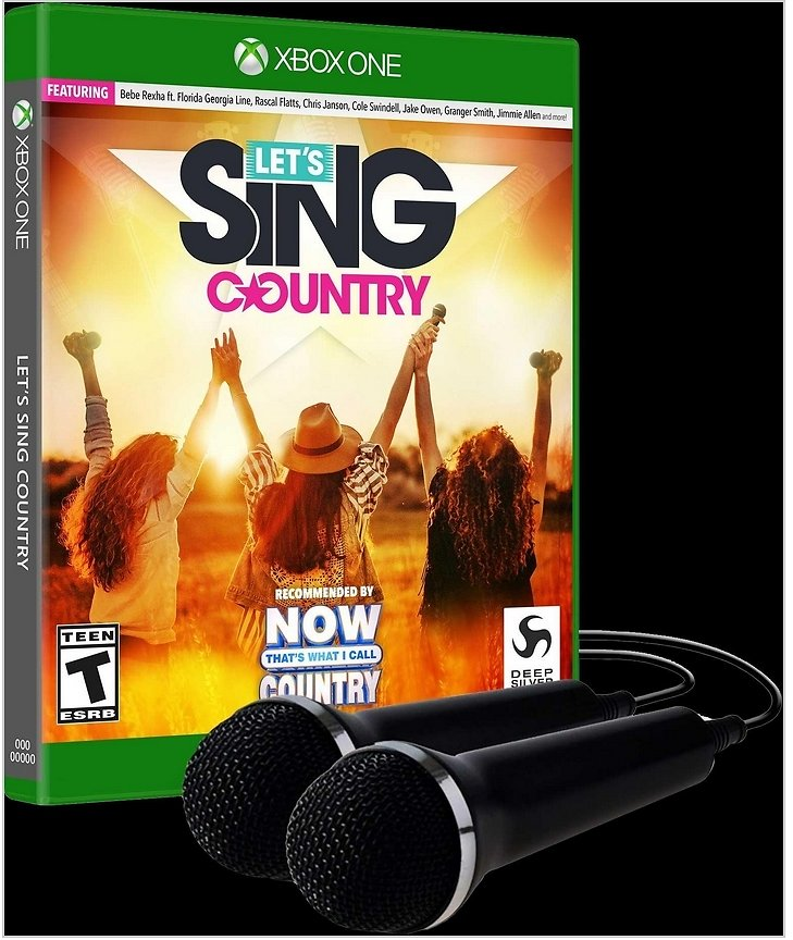 Let's Sing Country with 2 Mics Bundle | Xbox One | GameStop