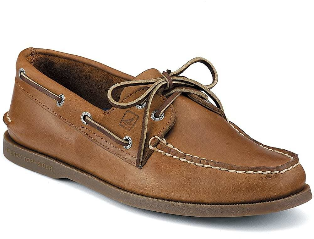 SPERRY Men's Authentic Original 2-Eye Boat Shoes, Wide