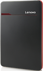 Lenovo Black External Hard Drive