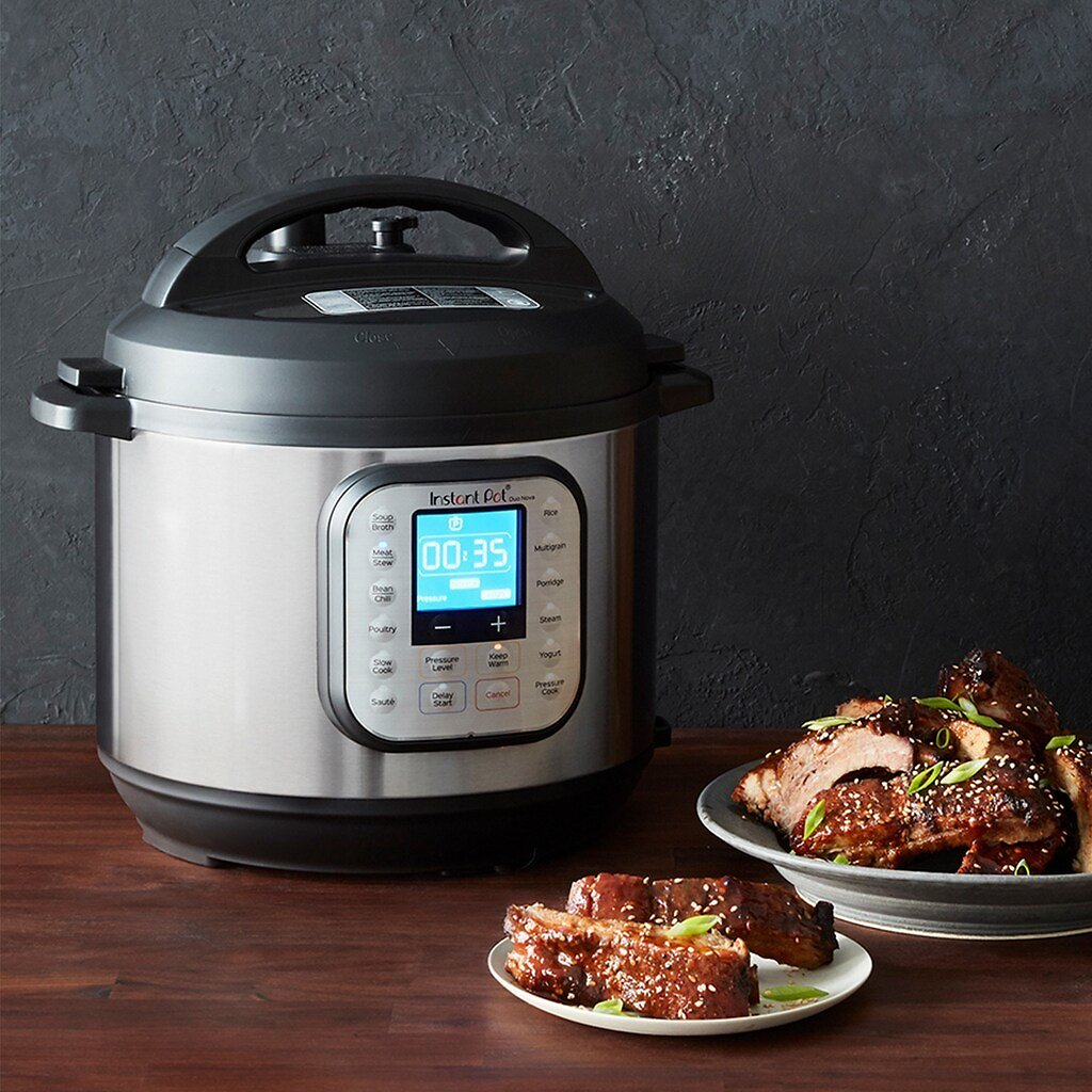 Instant Pot Duo Nova 7-in-1 Programmable Pressure Cooker - 3 QT