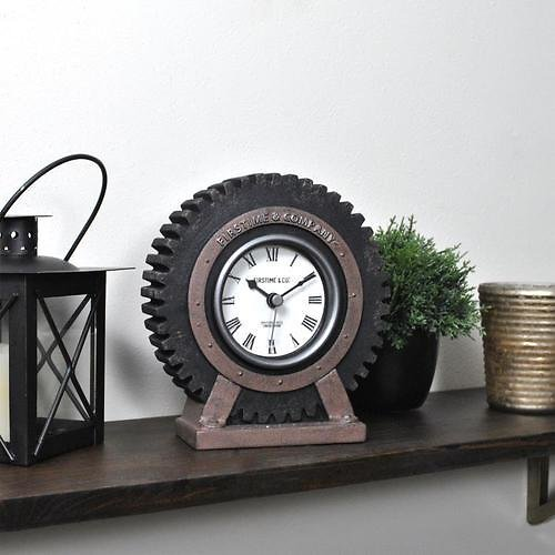 FirsTime FirsTime and Co Analog Novelty Tabletop Clock Lowes.com