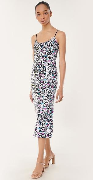 Leopard Sequins Annie Dress - MILLY | MILLY