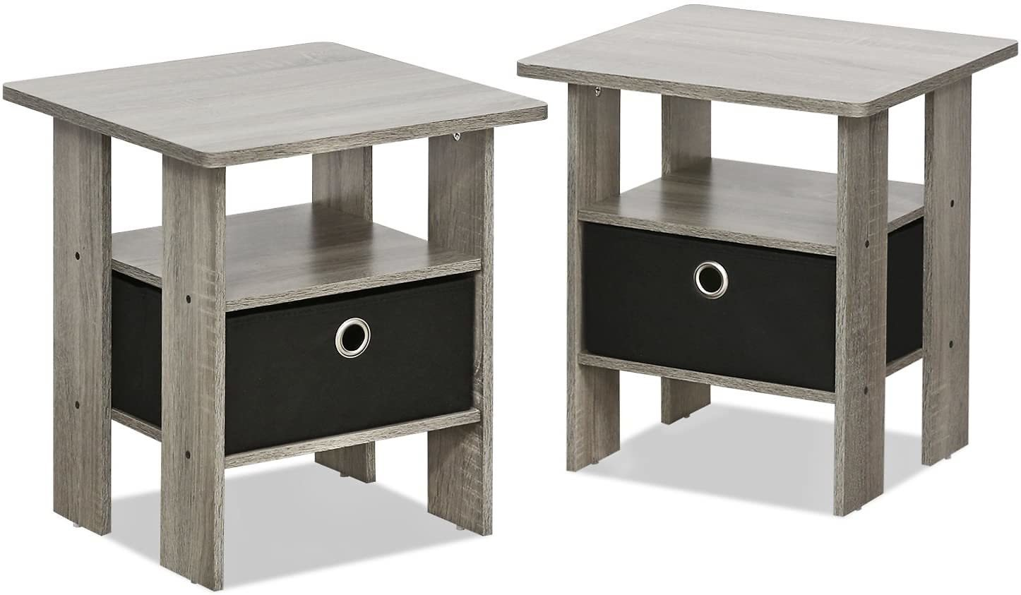 2-Pack FURINNO Andrey End Table