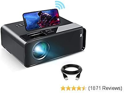 WiFi Movie Projector with Synchronize Smartphone Screen