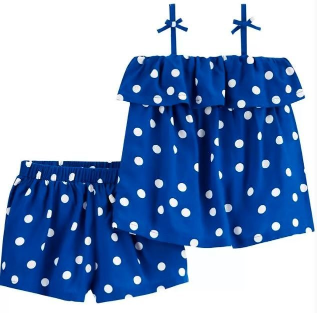 54% Off + 2-Piece Polka Dot Outfit Set