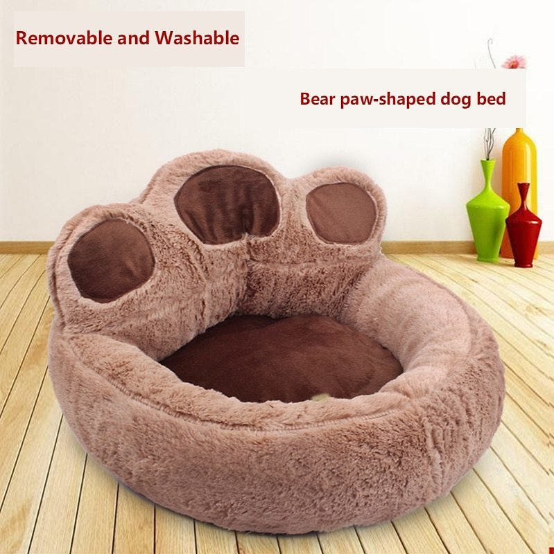 US $8.07  Bear Paw Shapped Beds for Cats and Dogs Dog Beds Dog House Houses, Kennels & Pens  - AliExpress