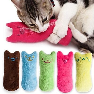 US $0.82 30% OFF|Teeth Grinding Catnip Toys Funny Interactive Plush Cat Toy Pet Kitten Chewing Vocal Toy Claws Thumb Bite Cat Mint For Cats Hot|Cat Toys| - AliExpress