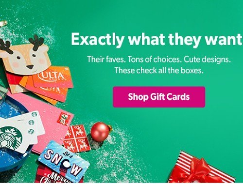 Up to 25% Off Gift Cards At Sam's Club