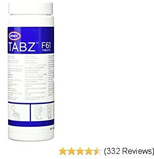 Urnex Tabz Coffee Brewer Cleaning Tablets - 120 Tablets