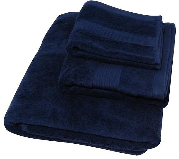 55% Off Soft Touch 3-Piece Cotton Bath Towel Set