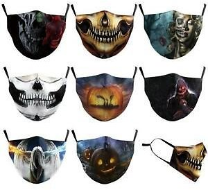 Washable Reusable Facemask Half Face Mouth Mark Protective Unisex Cotton Mask