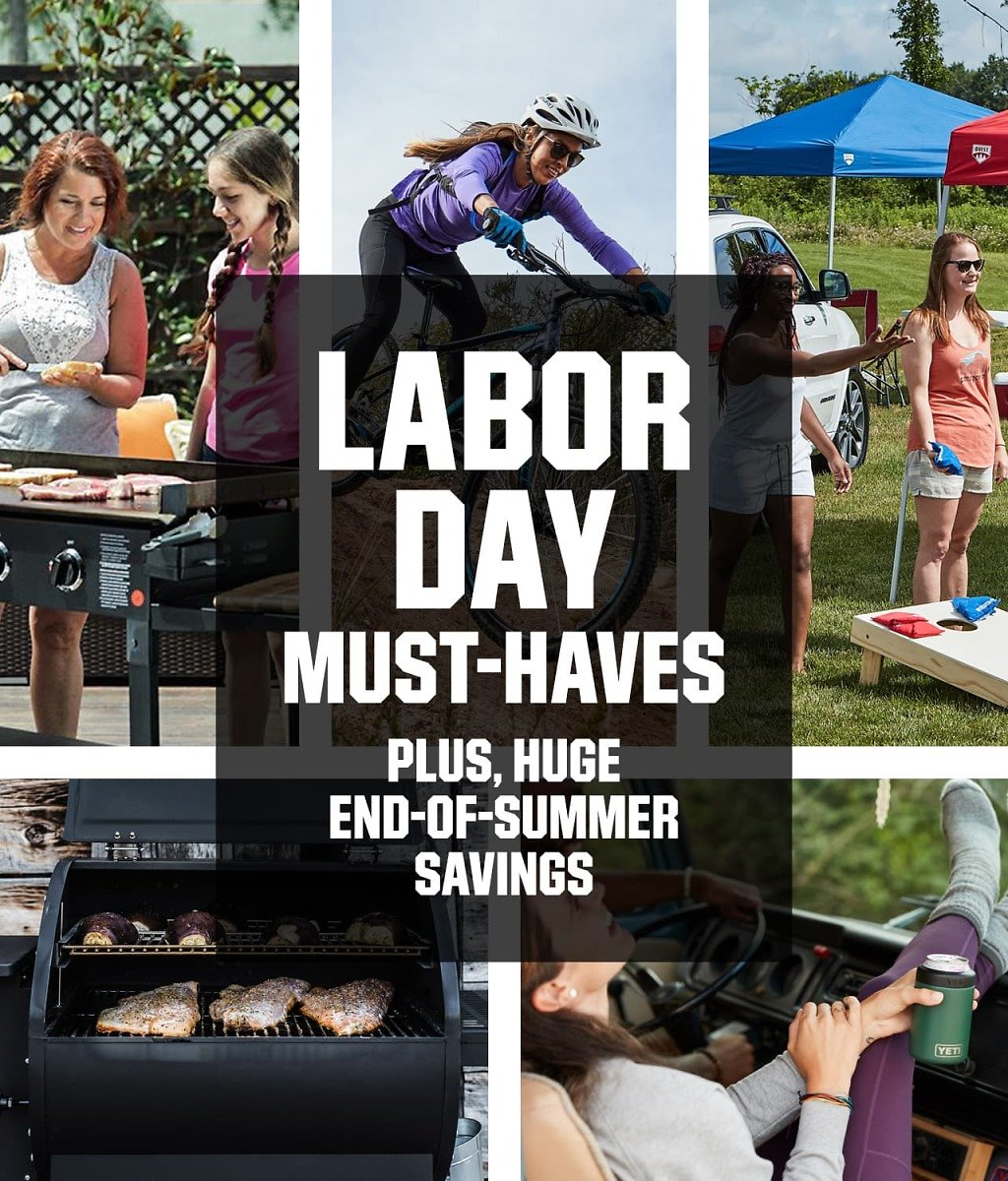Up to 50% Off End-of-Summer Savings + Labor Day Must-Haves