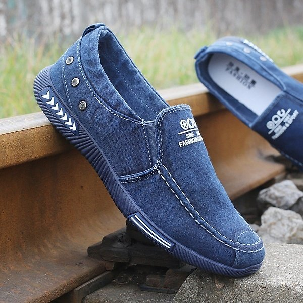 2017-Summer Men's Canvas Shoes