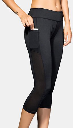 Soprt Women Solid Color Quick Dry Pocket High Waist Elasticity Yoga Pants Activewear from Women's Clothing on Banggood.com
