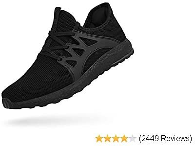 Feetmat Men's Sneakers Slip On Gym Running Workout Shoes Slip Resistant Tennis Sports Fashion Shoes