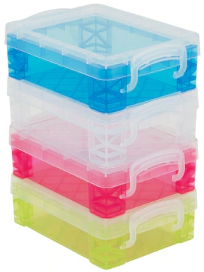 Plastic Totes & Organizers from Michaels