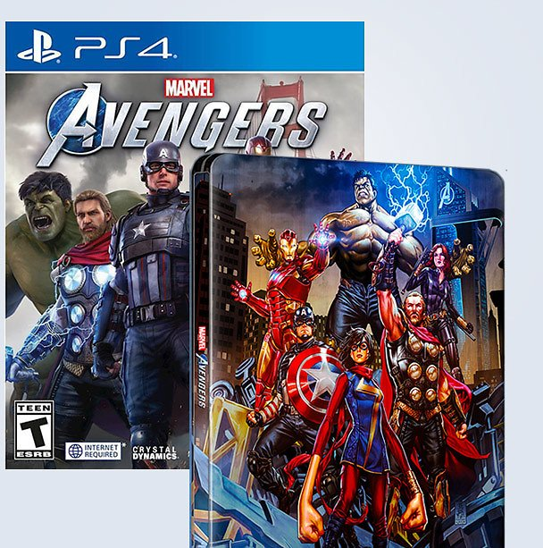 Marvel's Avengers for PS4 and Xbox One Now Available
