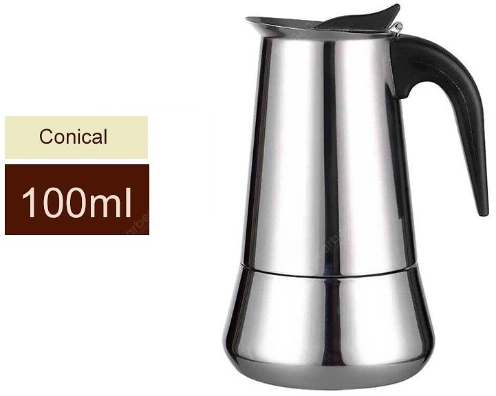 LeeHUR Coffee Maker Pot Stainless Steel Large Capacity Manual Moka Coffee Containers Sale, Price & Reviews