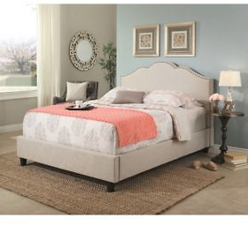 Colin Upholstery Platform Bed (Assorted Sizes) - Sam's Club