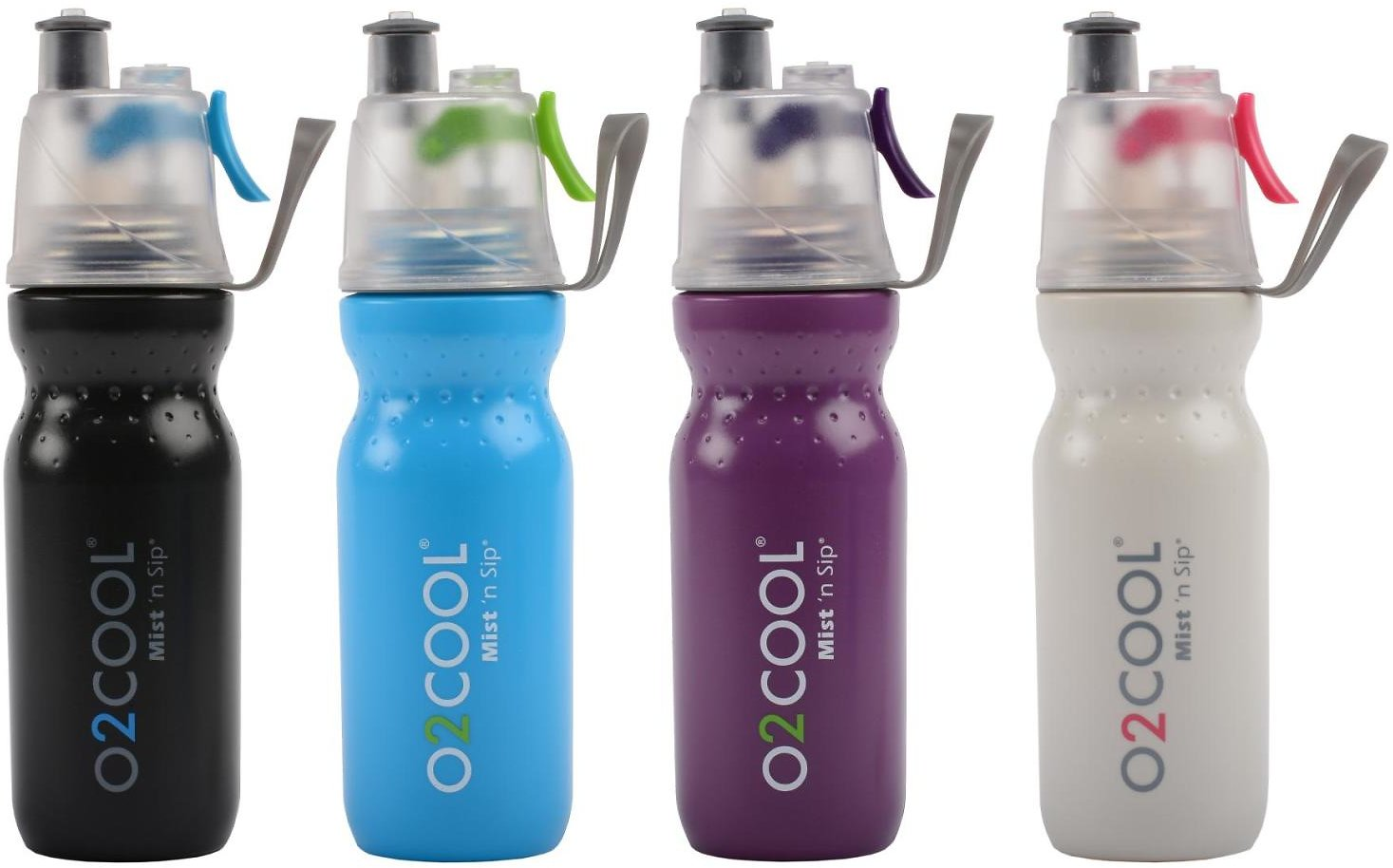 O2Cool 6-Pack ArcticSqueeze Classic 20-Ounce Mist 'N Sip Water Bottles