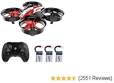 HS210 Mini Drone RC Nano Quadcopter Best Drone for Kids and Beginners
