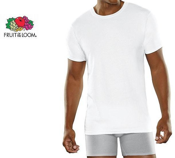 Fruit of The Loom Micro Mesh T-Shirts (1- or 2-Pack)