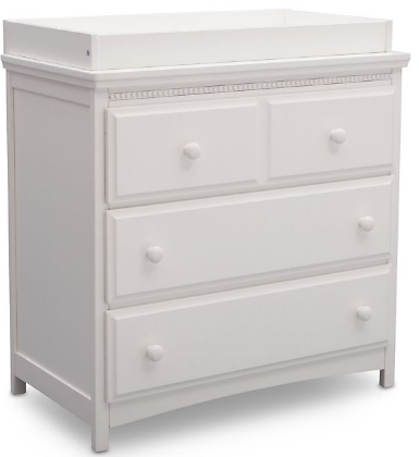 Delta Children Waverly 3 Drawer Dresser with Changing Top (2 Colors)