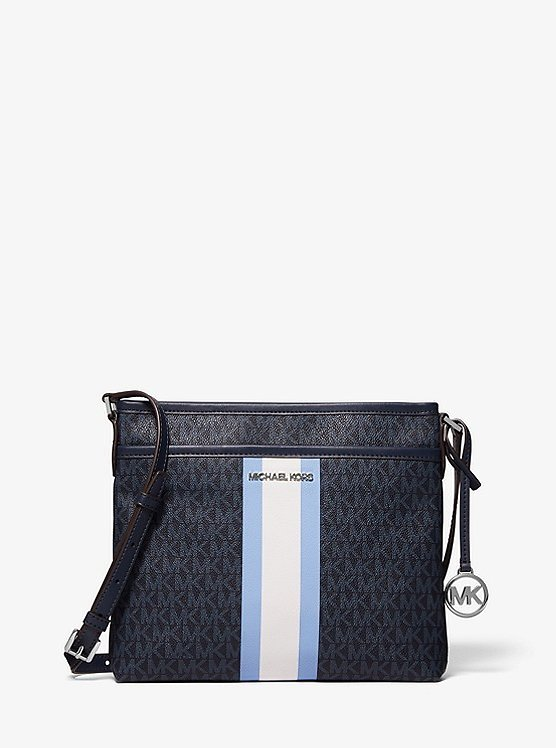 Bedford Small Logo Stripe Crossbody Bag (3 Colors)