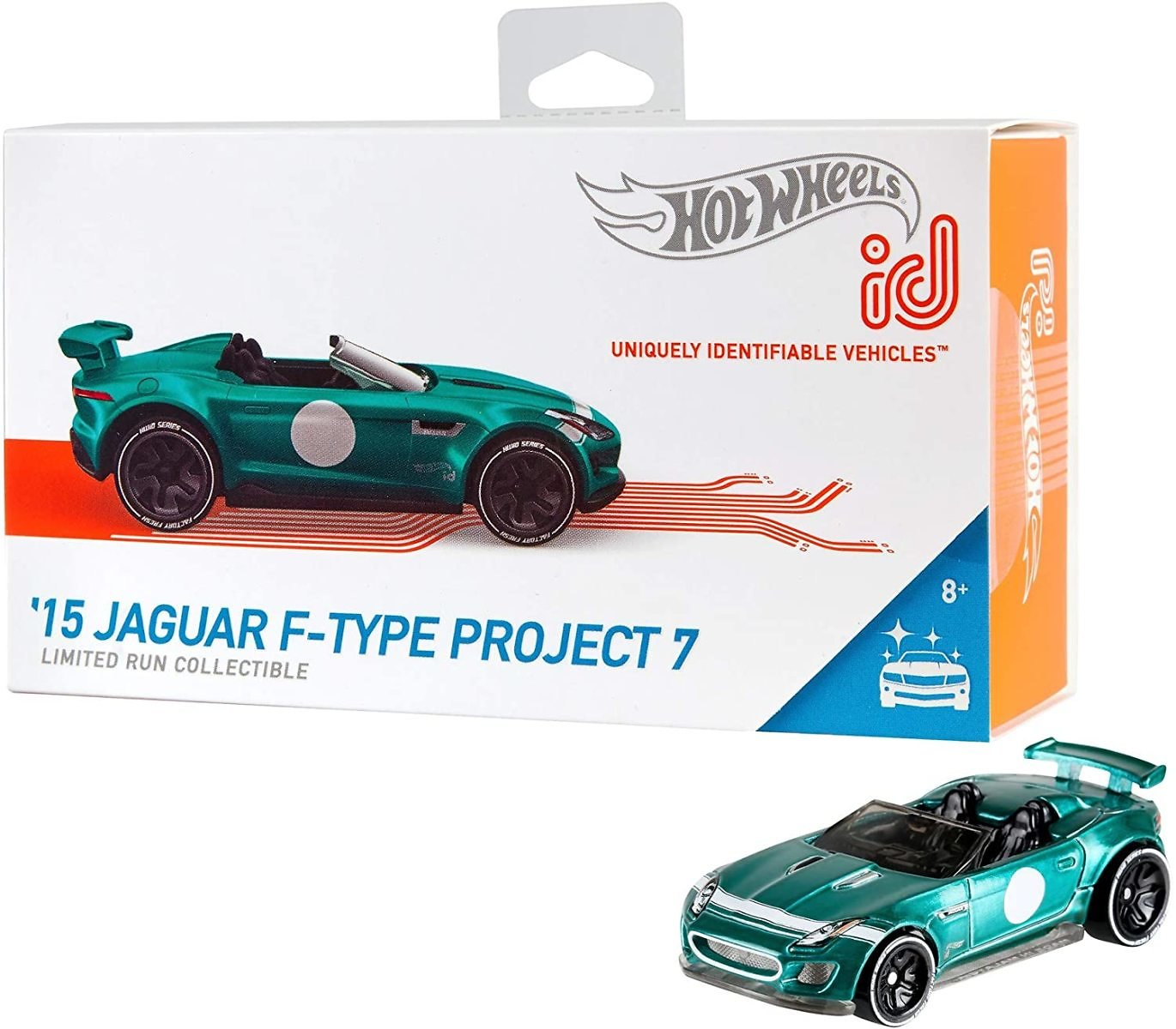 Hot Wheels Id '15 Jaguar F-Type Project 7